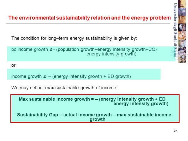 On the sustainability of global development - ppt download