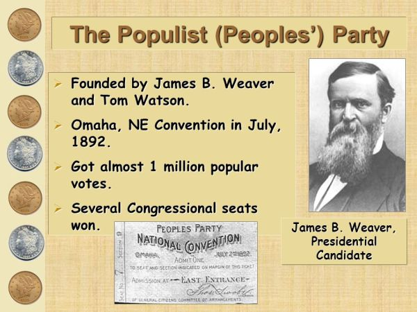 The Populists. - ppt download