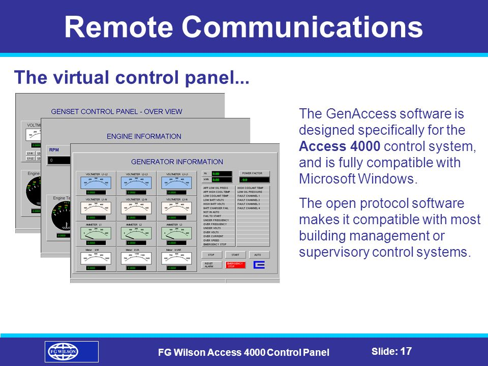 Remote+Communications+FG+Wilson+Access+4000+Control+Panel control panel wiring diagram dolgular com  at soozxer.org