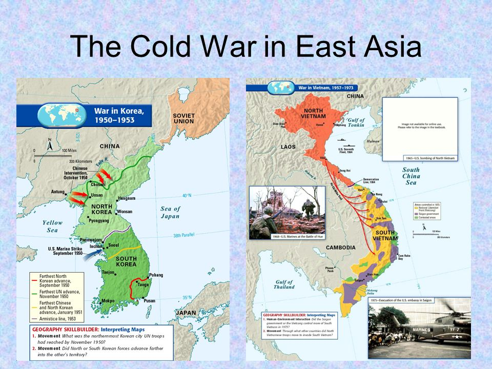 Cold War Map Of Asia.War Map Europe Cold Asia And