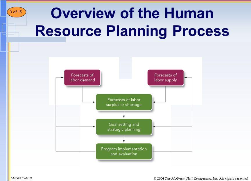 Kết quả hình ảnh cho human resource planning process