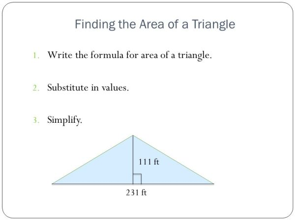 Area of a Parallelograms and Triangles - ppt video online ...