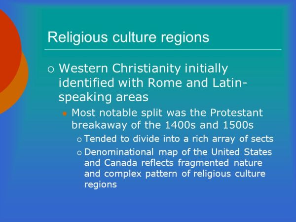 Religious Realms. - ppt video online download