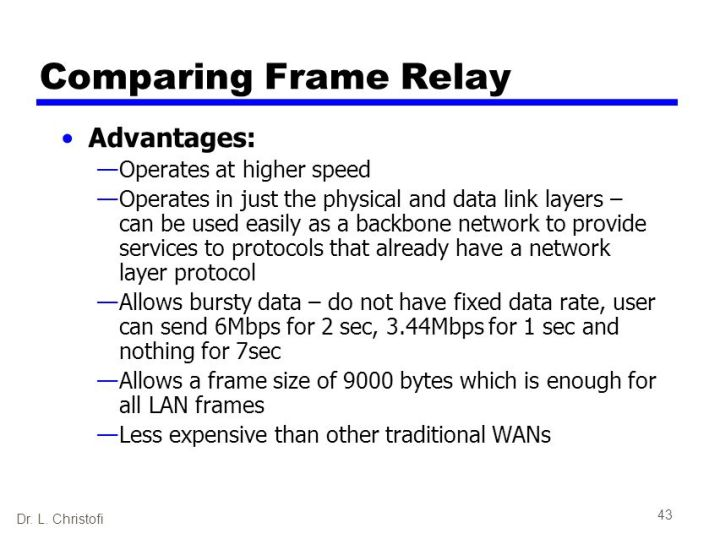 Advantages And Disadvantages Of Frame Relay Network | Viewframes.org