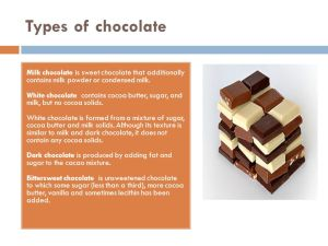«A day without chocolate is  ppt video online download