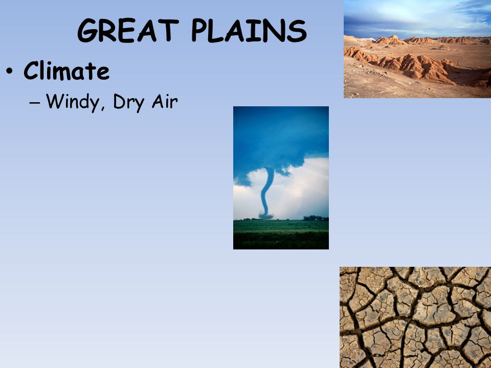 Great Plains Precipitation