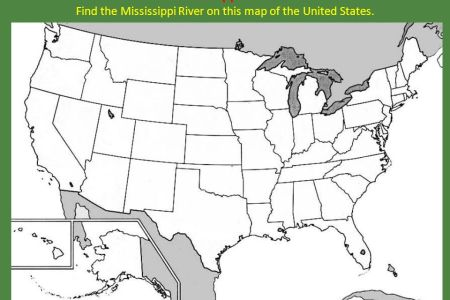 map united states mississippi river » Free Wallpaper for MAPS | Full ...