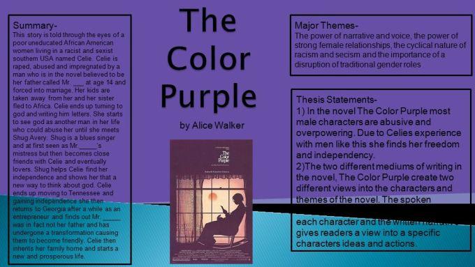 Alice Walker Essay Color Purple   Textpoems.org