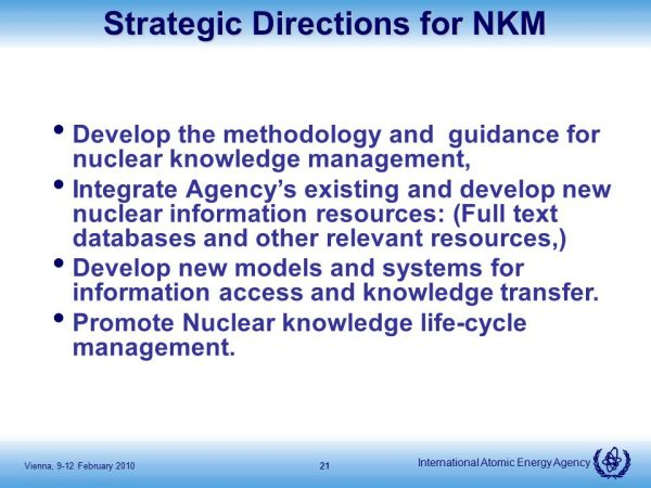 IAEA activities on Human Resource Development and Nuclear ...
