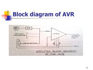 AUTOMATIC VOLTAGE REGULATOR(AVR)  ppt video online download