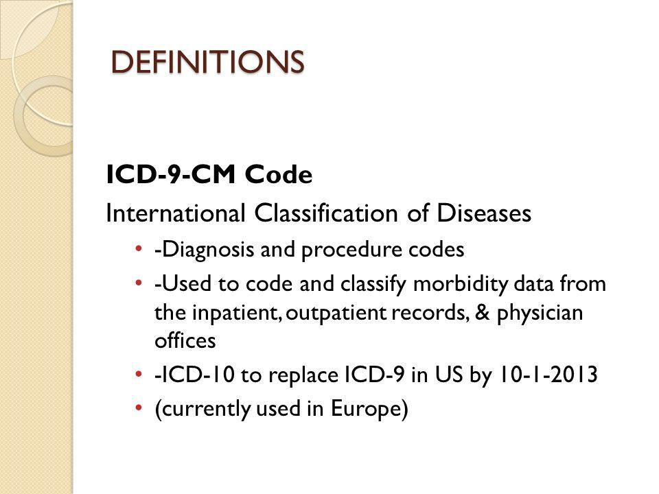 Common Cardiac Icd 9 Codes