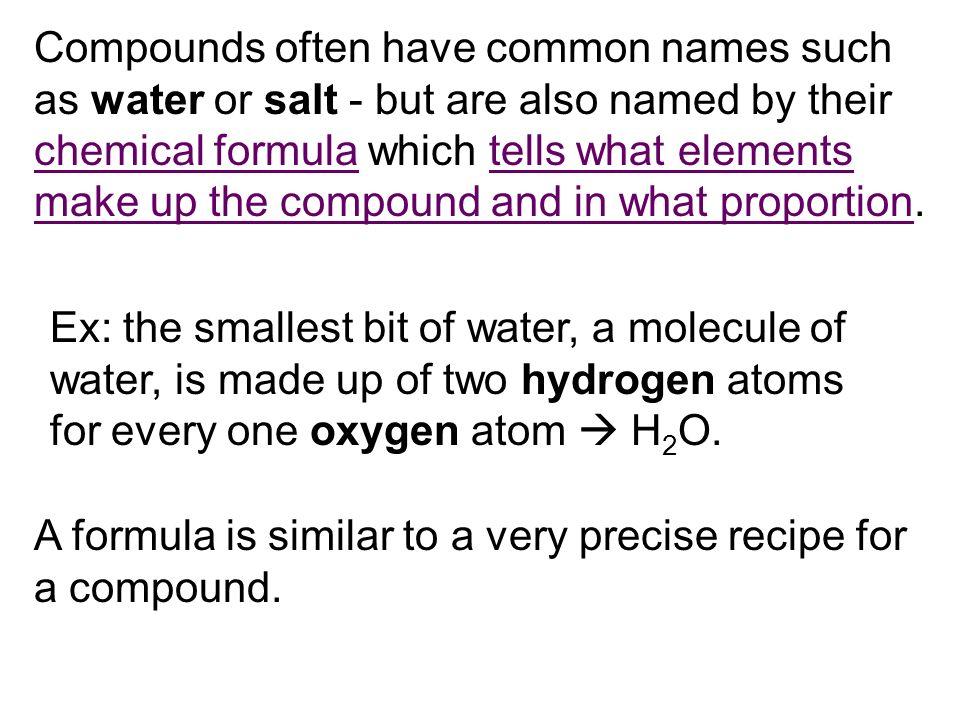 Types Cake Formula
