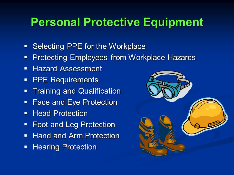 Personal Security Requirements