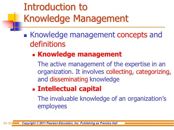 Chapter 11: Knowledge Management - ppt video online download
