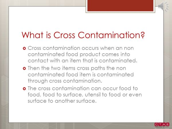 Contamination and Prevention - ppt video online download