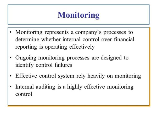 Chapter 5 Internal Control over Financial Reporting - ppt ...
