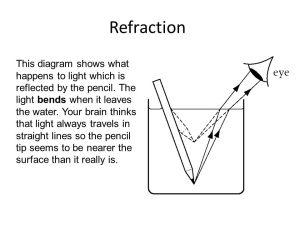 Refraction  ppt download