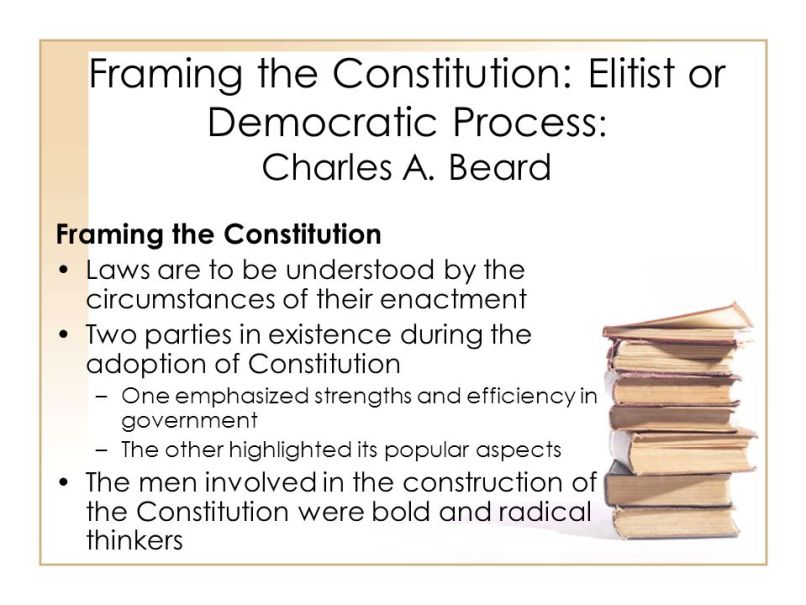 Framing The Constitution Charles A Beard Audio | Framess.co