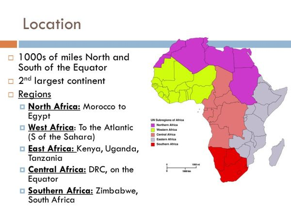 Africa's Geography and Climate - ppt download