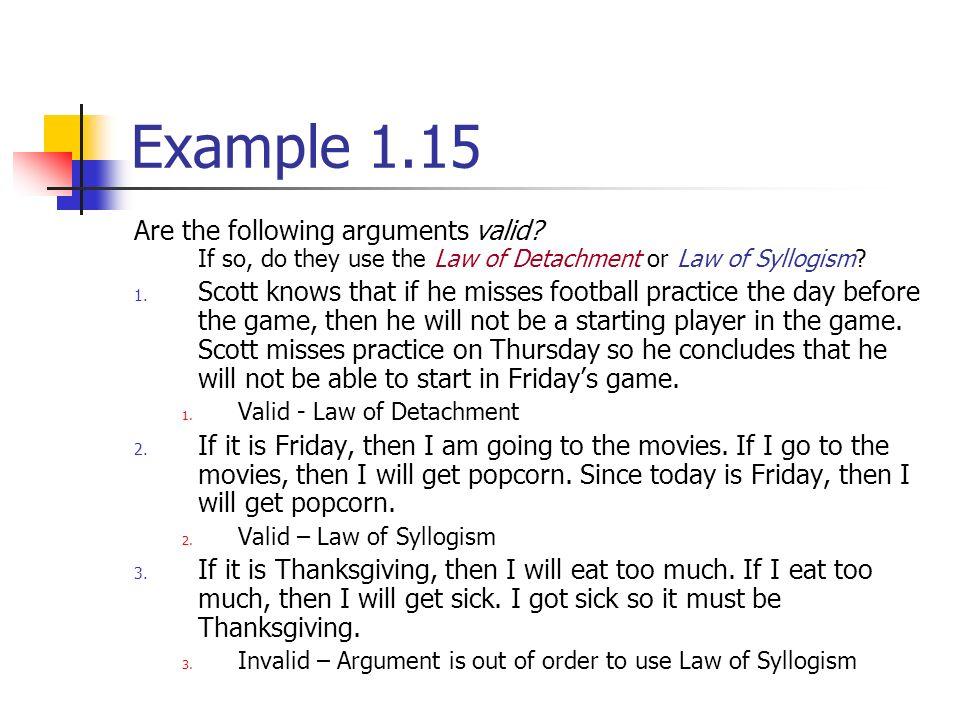 Debate Syllogism Law