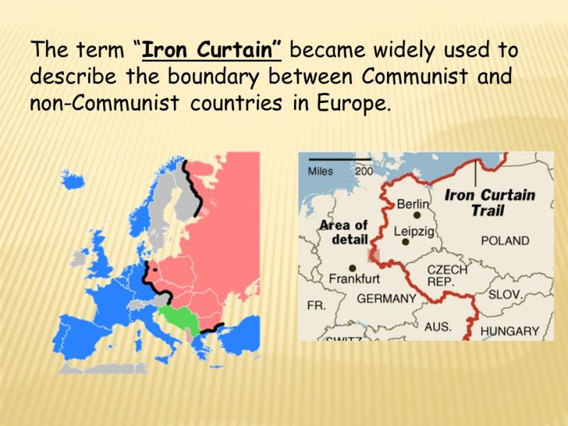 What Did The Term Iron Curtain Refer To Gopelling Net
