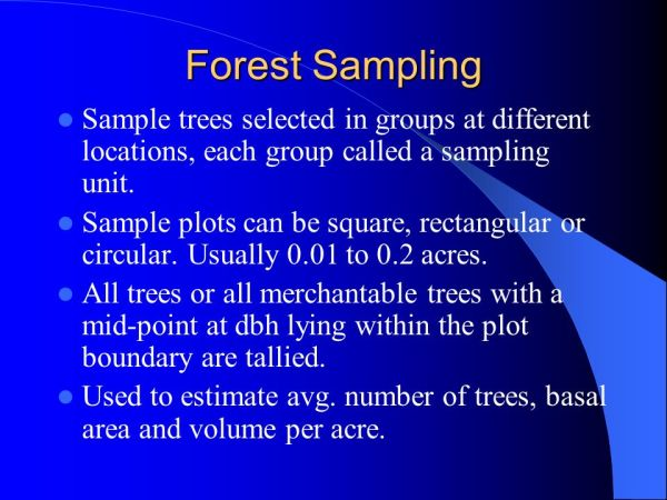 Forest Measurement Elements of Forestry Kenneth Williams ...