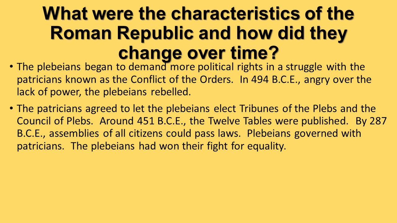 Chapter 33 The Rise of the Roman Republic - ppt video online download