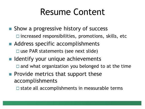 Preparing Your Resume Presenter: Peter G. Raeth, Ph.D ...
