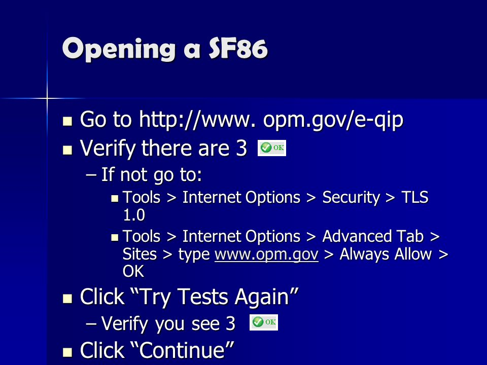 What Sf 86 Security Clearance