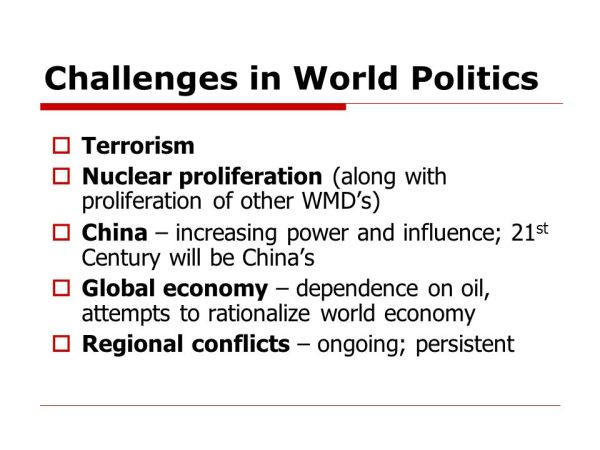 Foreign & Defense Policy - ppt video online download