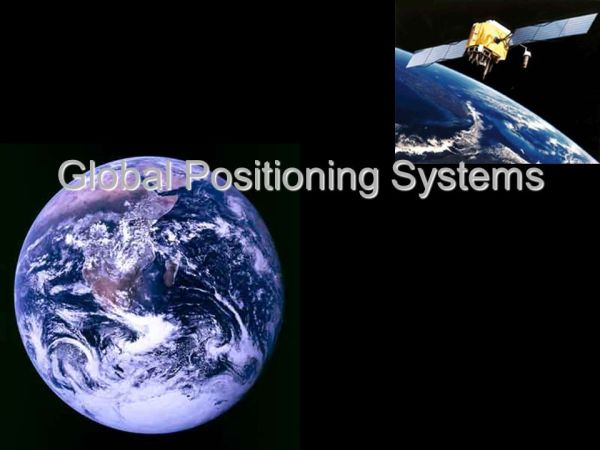 Global Positioning Systems - ppt download
