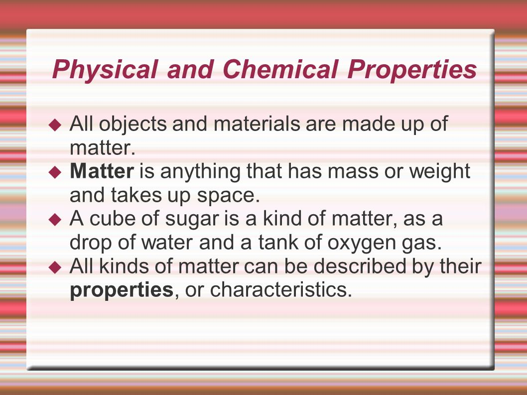 Cozy Chemistry The Study Of Chemical Physical Properties And