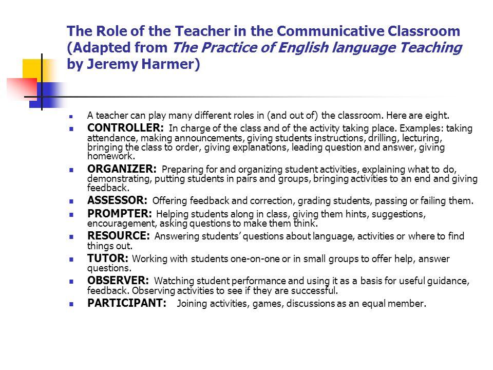Communicative Language Teaching Ppt Video Online Download