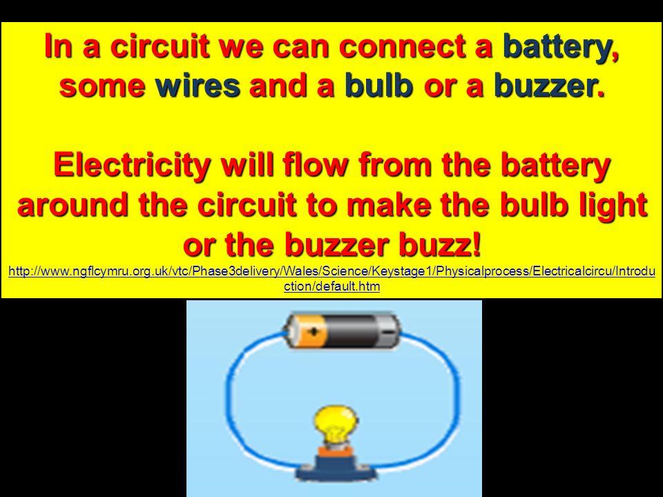 Flows How Bulb Light Electricity Battery