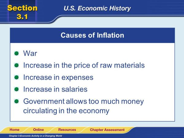 Read to Learn Describe the four types of economy that the ...