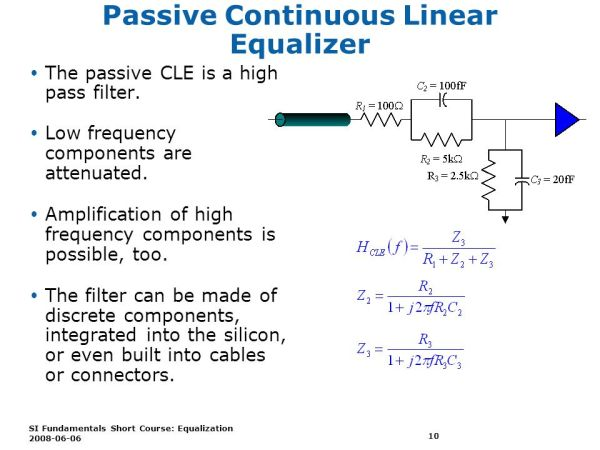 SI Fundamentals Short Course - Equalization - ppt video ...