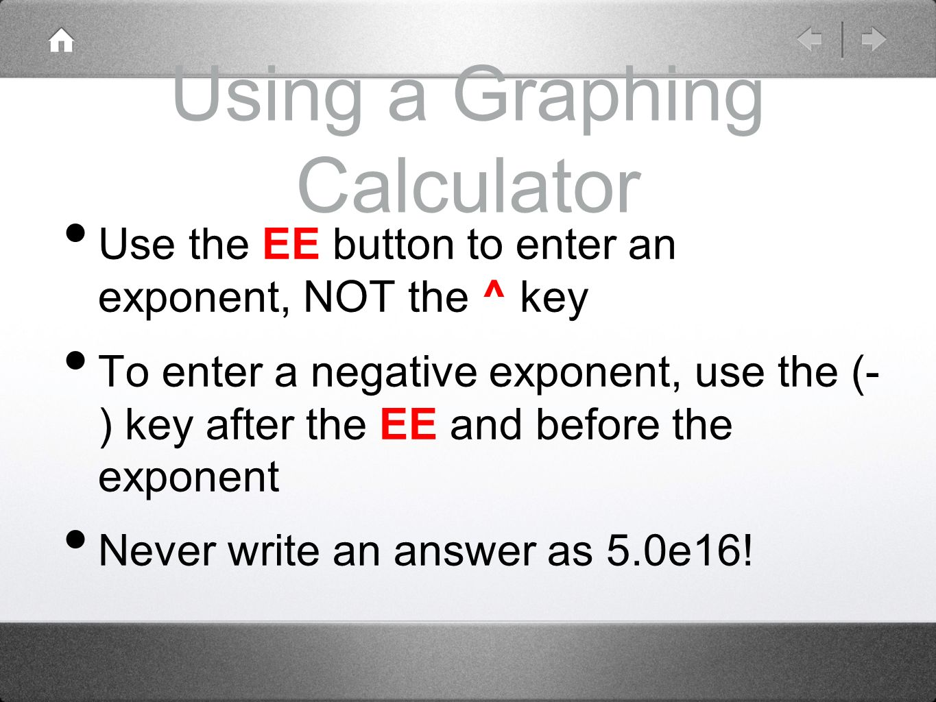 Graphing Calculator With Negative Button Online Pre