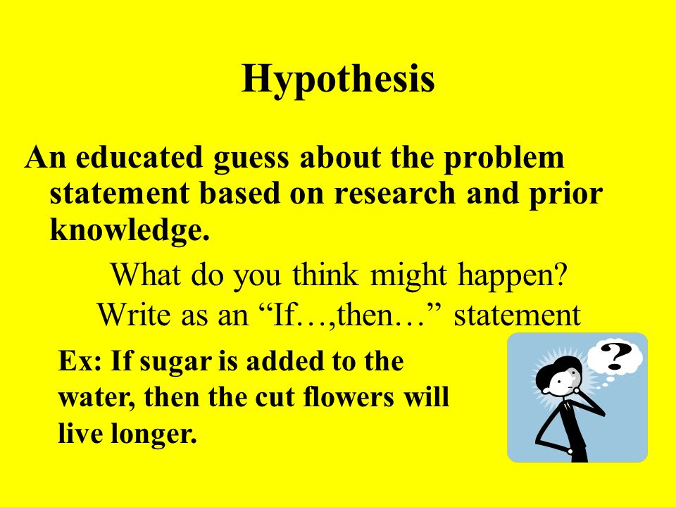 Science Problem Statement Examples