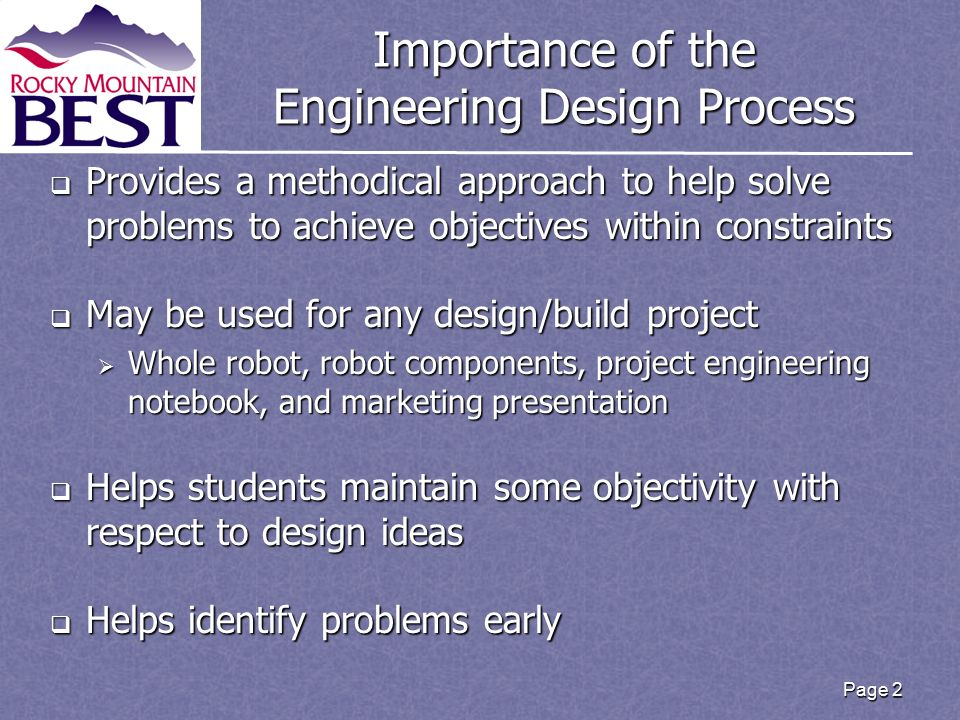 The Engineering Design Process Ppt Video Online Download