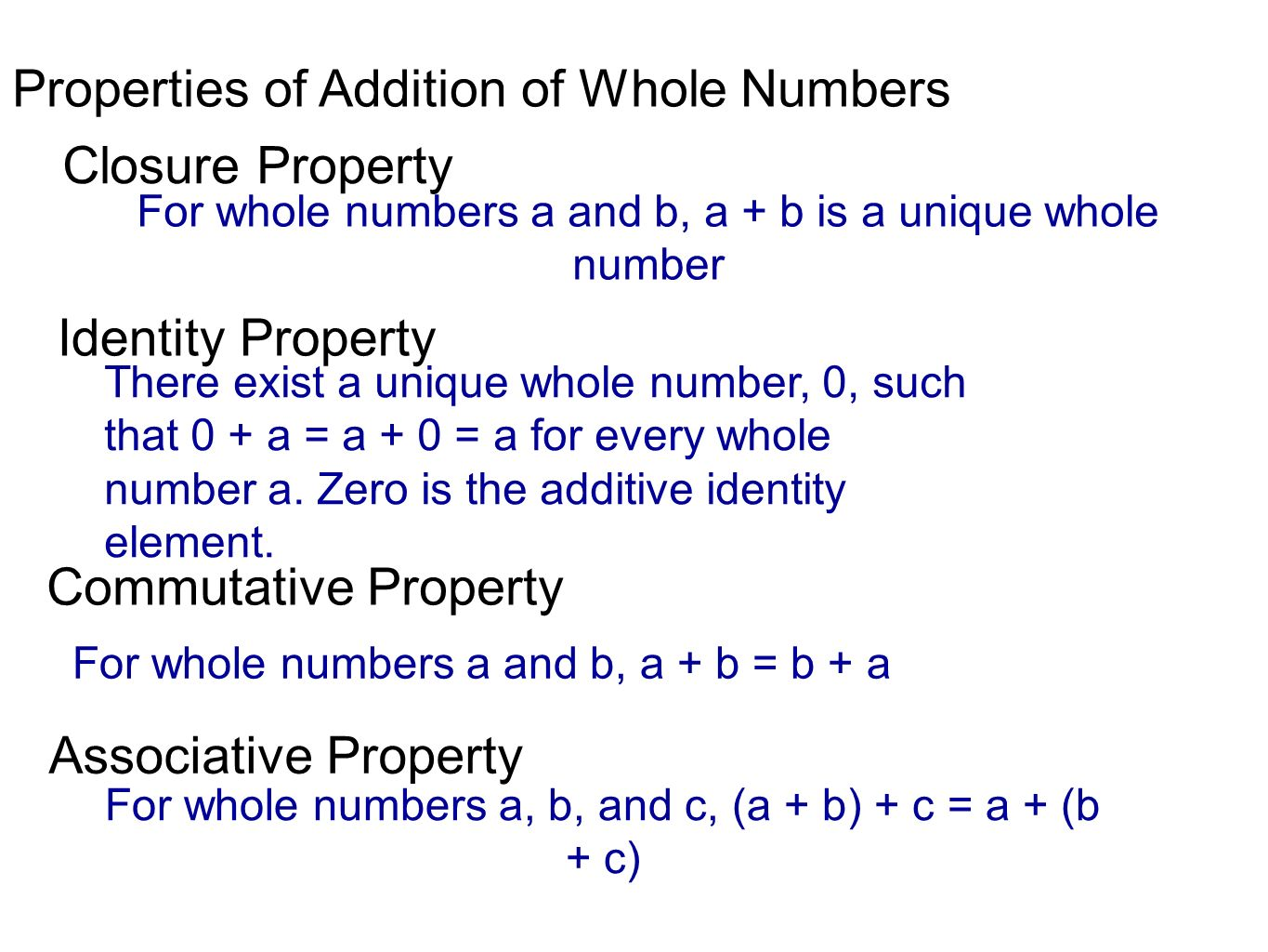 Section 2 1 Sets And Whole Numbers