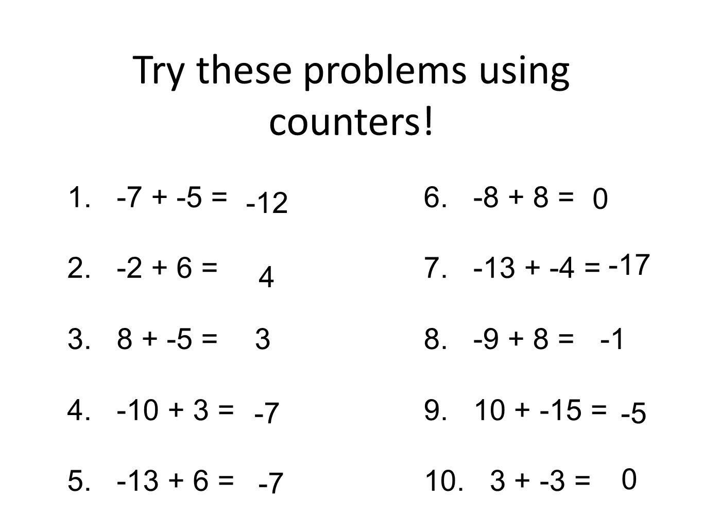 Worksheet Integer Problems Grass Fedjp Worksheet Study Site