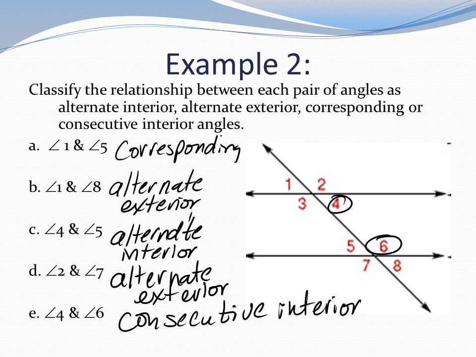 31 Parallel Lines And Transversals Ppt Video Online