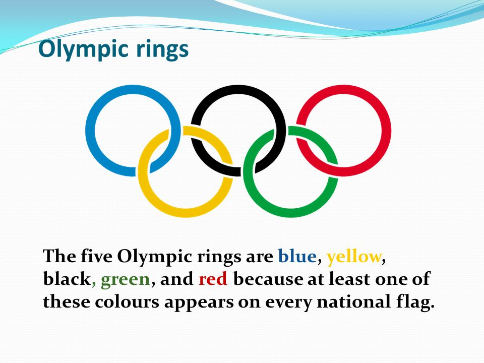 Olympic Rings Meaning Of Flag Colors