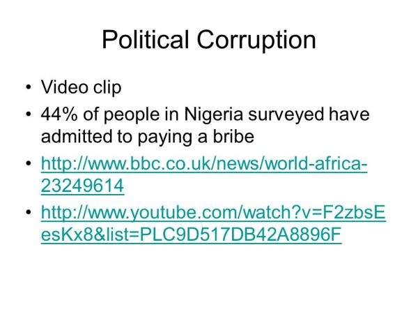 Problems of Democracy A Case Study: Nigeria. - ppt download