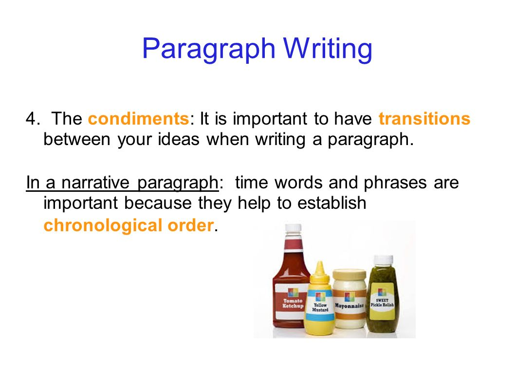 What S Your Story The Narrative Paragraph