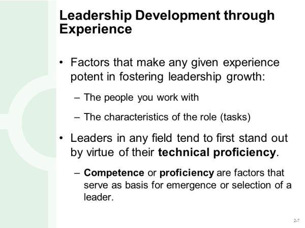 Topic 4 Leadership Development. - ppt video online download