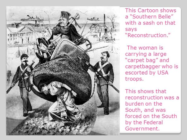interpreting political cartoons activity 9 reconstruction and carpetbaggers answer key