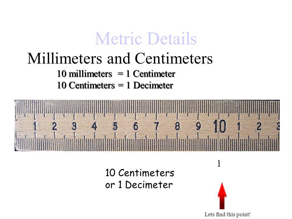 Kilometers Equals 1 How Many Decimeter