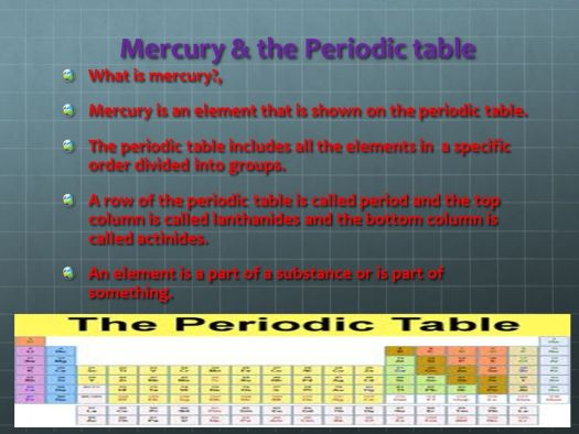 What family is mercury in on the periodic table periodic 2 mercury the periodic table mercury by kris kalathas ppt online urtaz Image collections