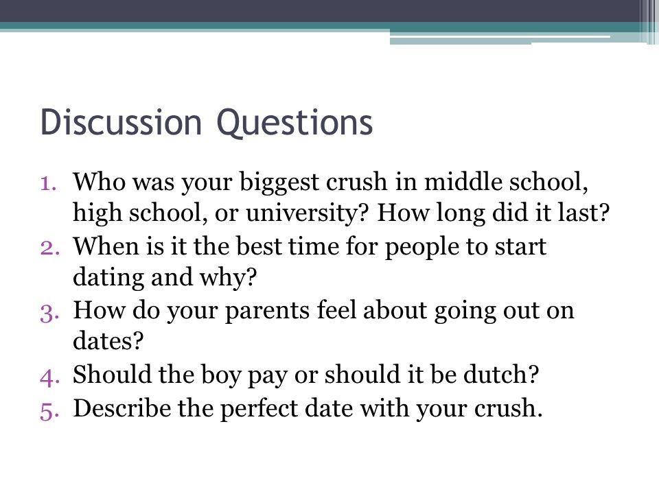 Middle school crush quiz